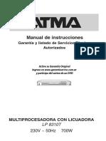 Instrucciones multiprocesadora