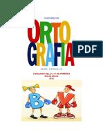 Concurso de Ortografia Dia Del Idioma Grado Segundo