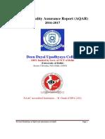 AQAR DDU
