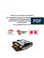 CONCURSO WARBOT 2019
