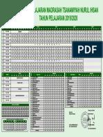 Jadwal Pelajaran 2019-2020