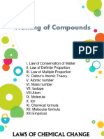 Naming of Compounds