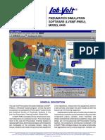 Pneumatics Simulation Software (LVSIM-PNEU) MODEL 6485