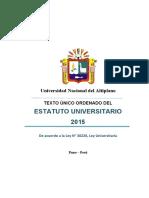 Tuo Estatuto Universitario