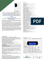 Manual Español Alarma Cod 43