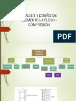 Análisis y Diseño de Elementos a Flexo Compresion