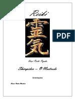 Usui Reiki Ryoho - Shinpiden - Mestrado - 2011