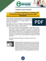 DETERMINACION DE EDAD GESTACIONAL