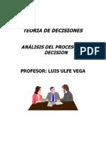 TEORIA de DECISIONES Notas de Clase Incertidum