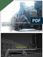 Presentacion Taller VII - CARRERA DE ARQUITECTURA
