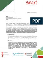Colegio Parroquial Carta de Presentacion