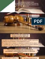 Diapositiva de Derecho Inernacional Privado i