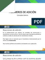 Clase 1 Polímeros de Adición - Conceptos Básicos