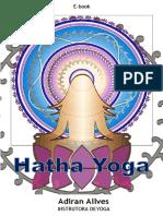 E-book Hatha Yoga Adiran Allves