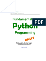 Fundamentals of Python Programming 1565204333