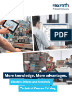 Rexroth-Electric Drives and Controls Technical Course Catalog