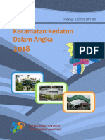 Kecamatan Kedaton Dalam Angka 2018