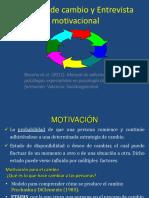 8.Estadios de Cambio y Entrevista Motivacional