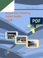 Kecamatan Kemiling Dalam Angka 2018