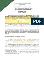 Arpini, Adriana - Artículo Sobre La Construcción Del a Priori Antropológico