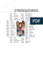 habilidades prosociales