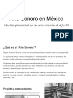 Arte Sonoro en México