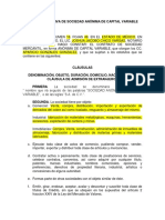 DE_M4_U2_S4_Acta Constitutiva de Sociedad Anonima de Capital Variable