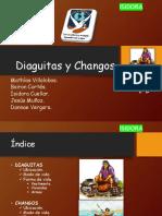 Changos y diaguitas de chile