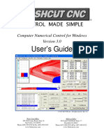 FlashCut CNC 3.0 Users Guide