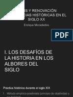 CRISIS Y RENOVACIÓN_  LAS CIENCIAS HISTÓRICAS EN EL SIGLO XX