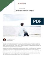 Nine Attributes of a Real Man _ Desiring God