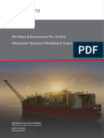 f13 Dhi 2014 Wastewater Dispersion Modelling in Support o