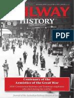 Australian Railway History November 2018