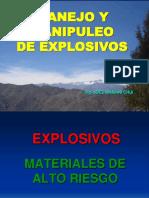 Manipuleo de Explosivos Ing Joel