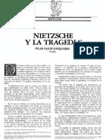 Nietzsche y La Tragedia_pilar Palop Jonqueres