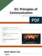 Lecture 1 Exploring Communication