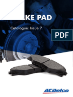 Acdelco Catalogue Disc Brake Pads