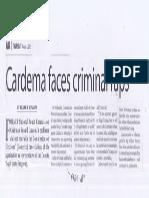 Manila Times, Aug. 8, 2019, Cardema faces criminal raps.pdf