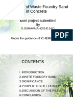 miniproject on reusable sand.odp