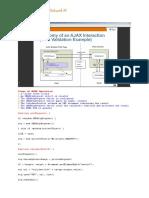 Steps of AJAX Operation