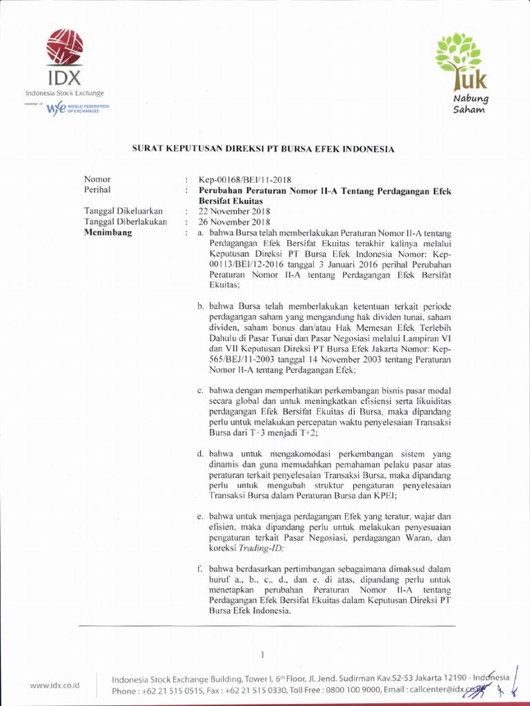 PT Bursa Efek Indonesia