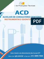 Catálogo de instrumental odontológico