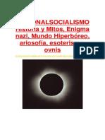 Nazismo y el mundo Hiperboreo