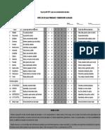 16pf-5 Perfil de Escalas Primarias y Dimensiones Globales
