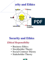 Security Ethics