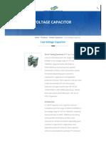Low Voltage Capacitor, LV Power Capacitors, Distributor, Dealer, Mumbai, India
