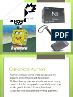 Canonical Authors