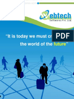 Web Technology Brochure