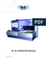 MANUAL BOOK BT35i AUTO CHEMISTRY ANALYZER