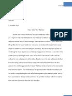 War Story Essay Final With Bib